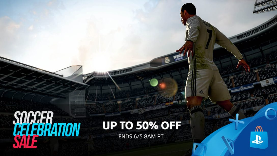 Save Up To 50% During PS Store's Soccer Celebration