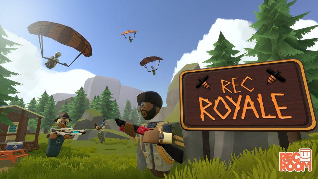 "Rec Room For PS VR Gets Free New ""Rec Royale"" Mode June 7"