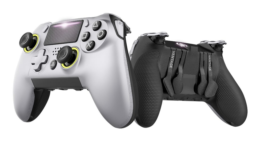 Introducing SCUF Vantage, An Officially Licensed Performance Controller for PS4