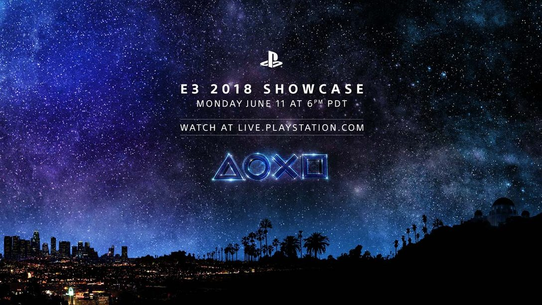 PlayStation at E3 2018: The Journey Begins June 11 at 6:00pm Pacific