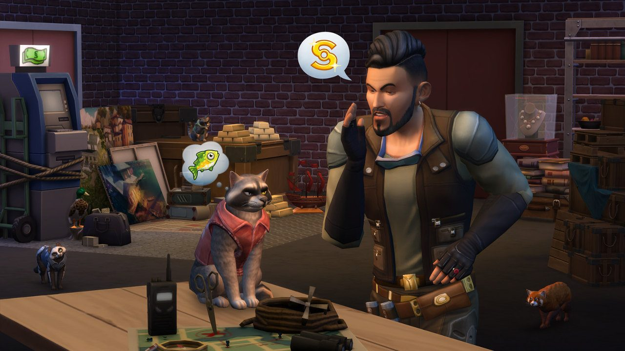 The Sims 4 Cats & Dogs Coming to PS4 July 31 – PlayStation Blog