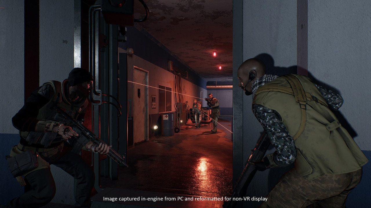 Strategic Team-Based PS VR Shooter Firewall Zero Hour