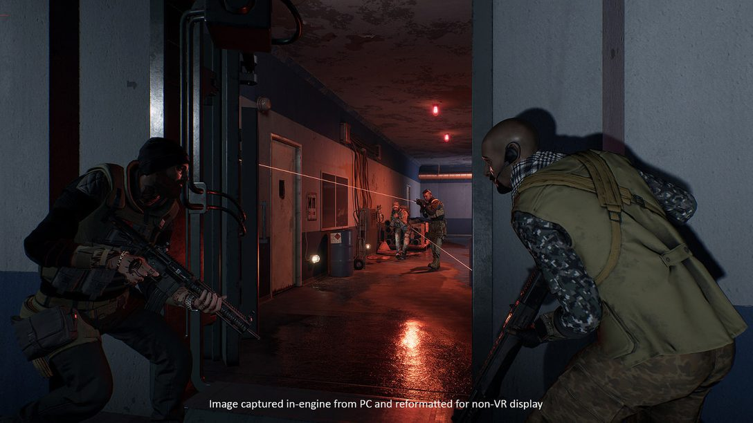Strategic Team-Based PS VR Shooter Firewall Zero Hour
