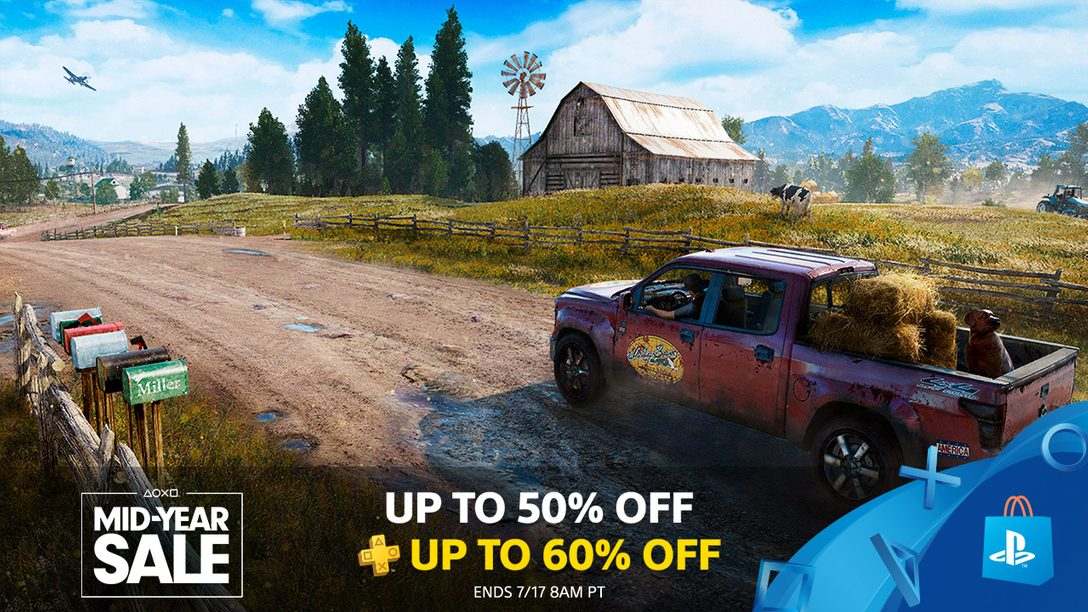 PS Store's Mid-Year Sale: 750+ Games Up to 50% Off