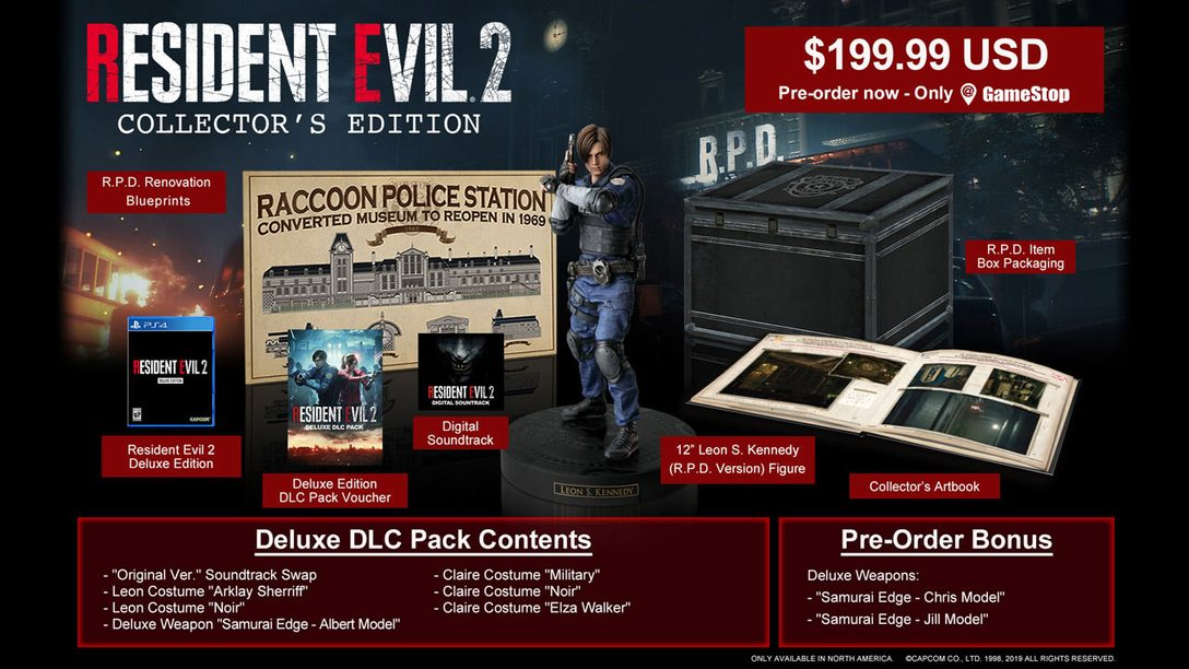 Resident Evil 2: Collector's Edition First Look, New Dev