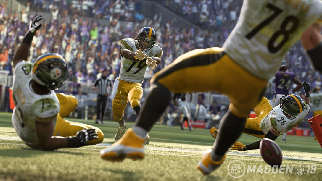 Madden NFL 19 Touchdown Celebrations: Inside the Mocap Studio