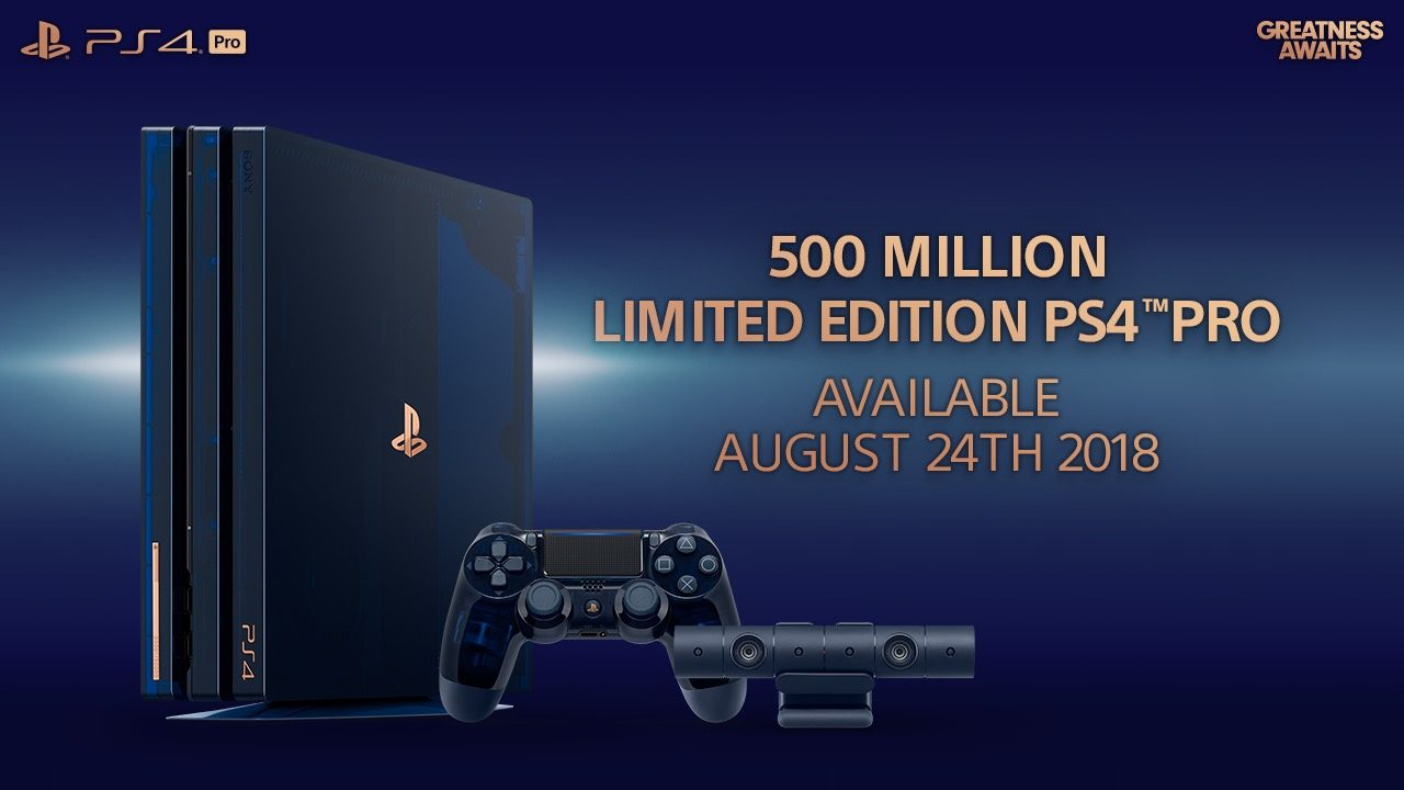 Introducing the 500 Million Limited Edition PS4 Pro