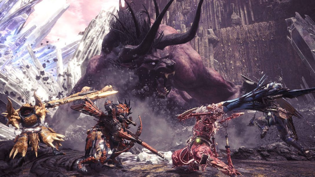 Monster Hunter: World Adds MMO Mechanics in its FFXIV