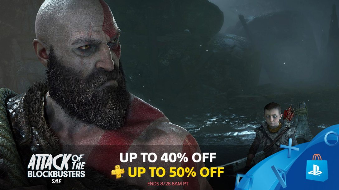 Attack of the Blockbusters Sale: Save Up To 40% on Big-Name Titles
