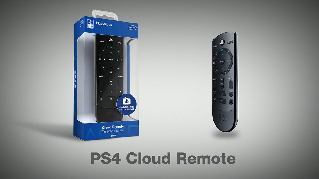Introducing the Cloud Remote for PS4