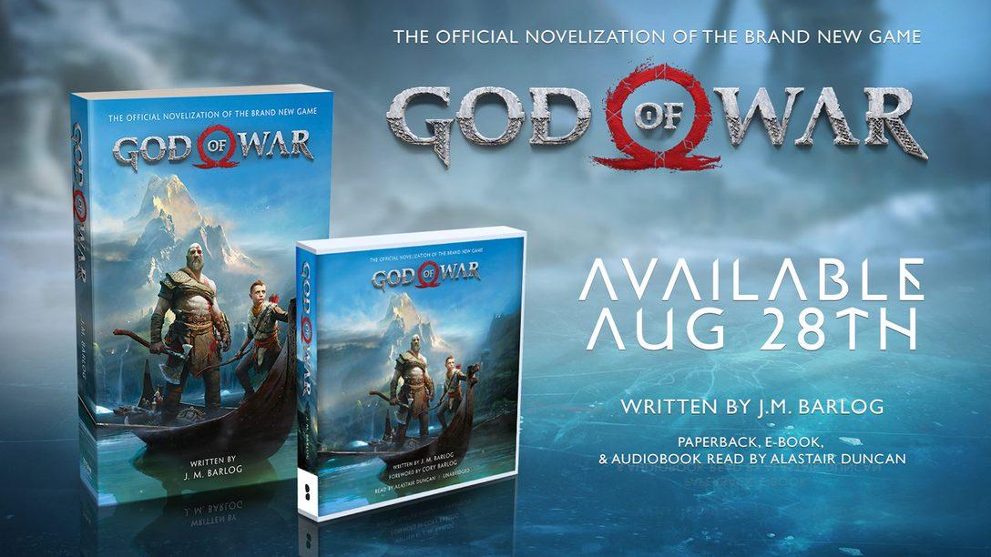 New PlayStation Gear: God of War Novelization & More