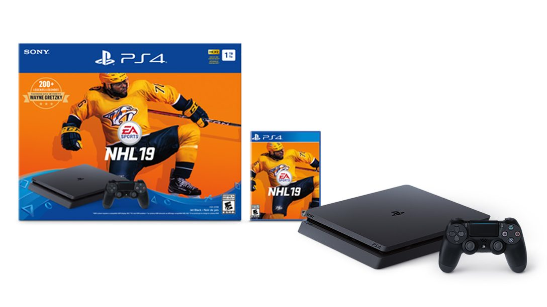 Canadian Exclusive: NHL 19 PS4 Bundle, Out September 14