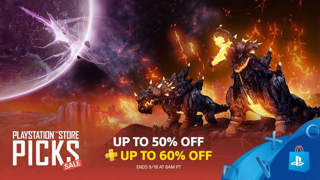 PlayStation Store Picks Sale! Save up to 50% All Week