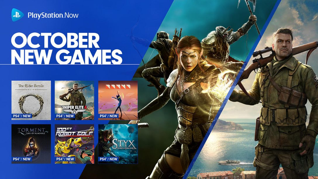 PS Now Adds 10 New PS4 Games, 7-Day Trials Reset
