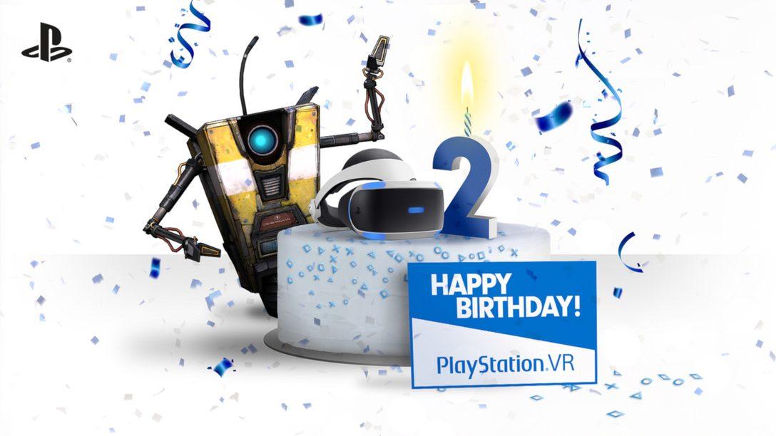 PlayStation VR Celebrates Second Anniversary October 13