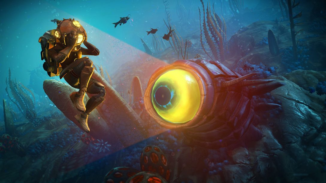 No Man's Sky Dives Underwater with Free Update, The Abyss