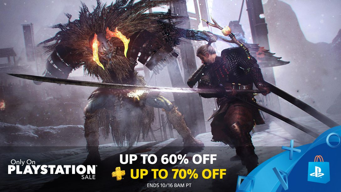 Only on PlayStation Sale: Save up to 60% on Exclusives at PS Store