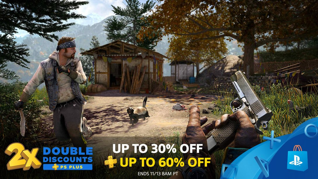 PS Plus Double Discounts Hit PlayStation Store