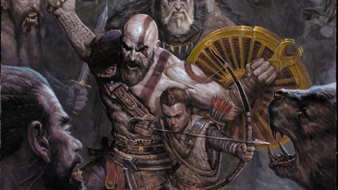Read 2 Pages of the Upcoming God of War Prequel Comic