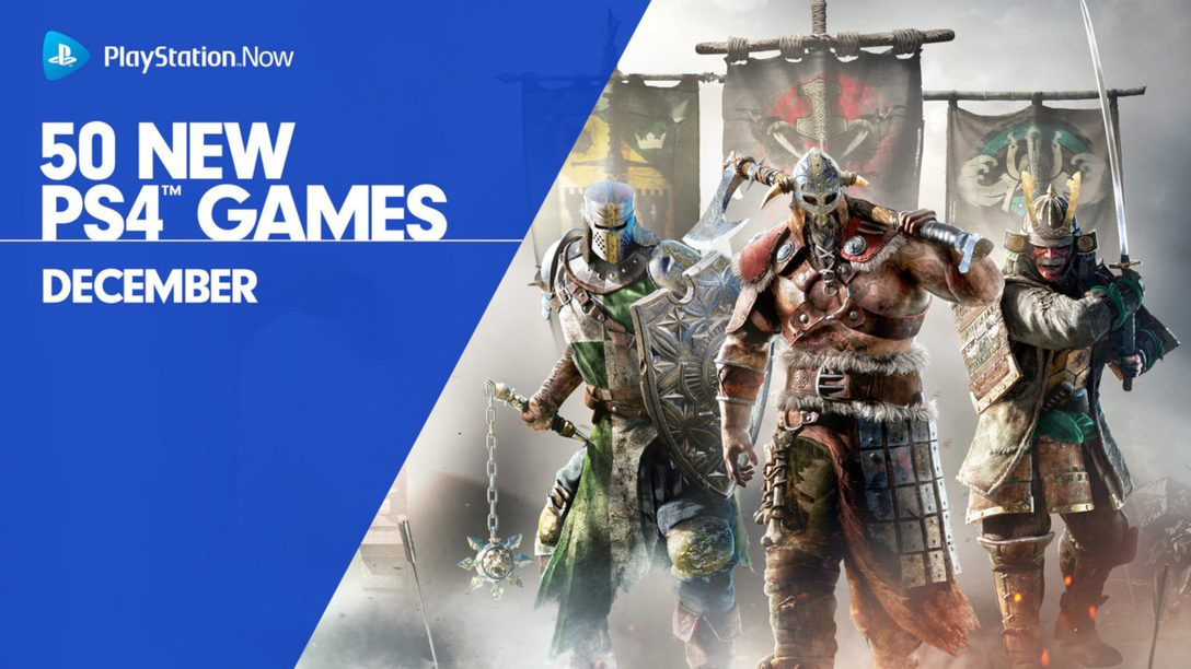 PS Now Adds 50 More PS4 Games, Including For Honor – PlayStation Blog