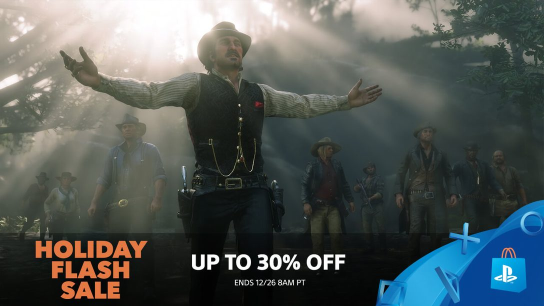 Flash Sale! Even More Holiday Deals at PlayStation Store