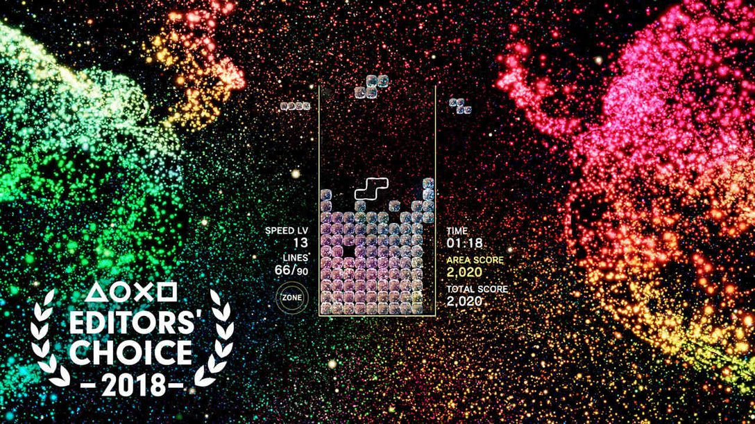 Editors' Choice: Why Tetris Effect is One of 2018's Best Games