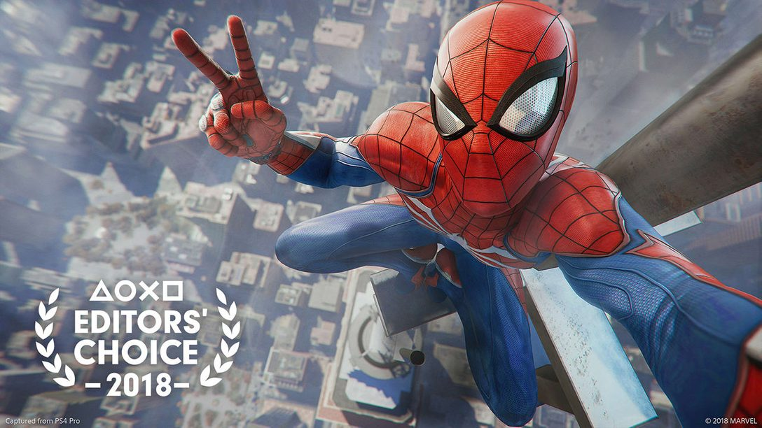 Editors' Choice: Why Marvel's Spider-Man is One of 2018's Best Games