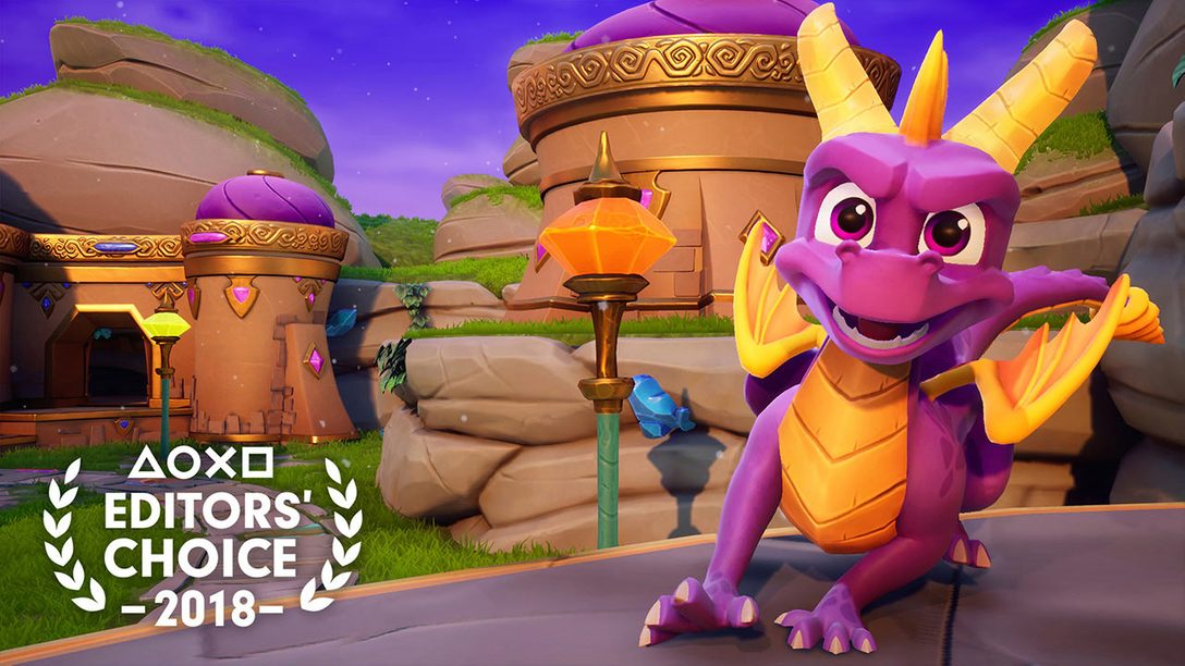 Editors' Choice: Why Spyro Reignited Trilogy is One of 2018's Best