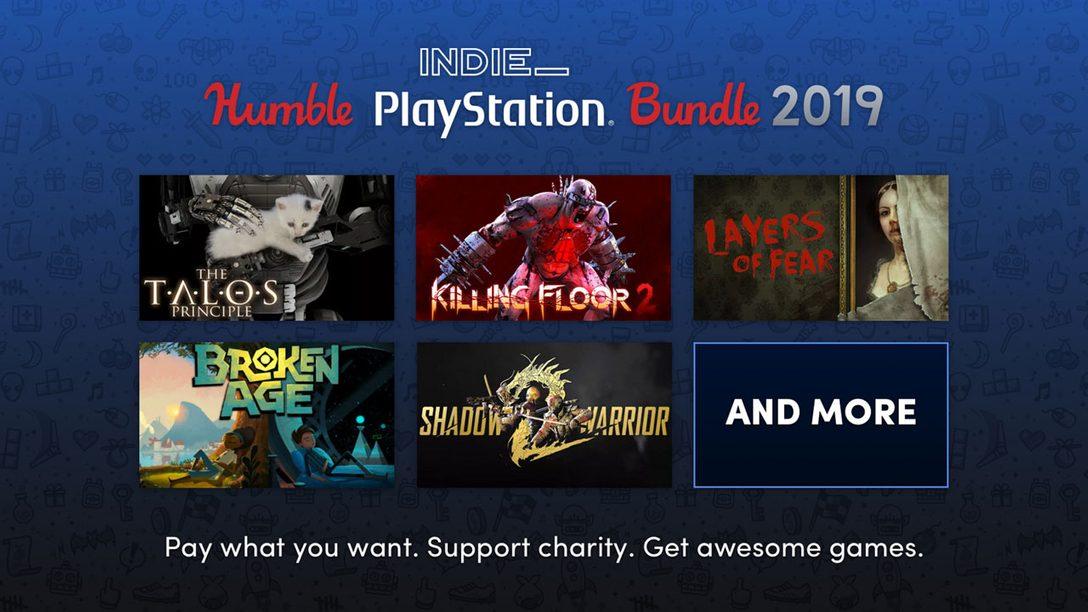 PS4 Humble Indie PlayStation Bundle 2019 Available Now