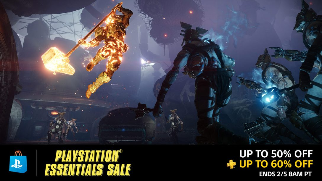 PlayStation Essentials Sale: Save up to 50% on Must-Have Games