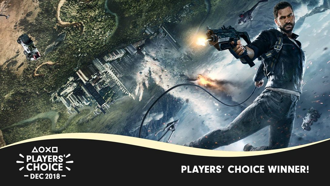 Players' Choice December 2018 Winner: Just Cause 4