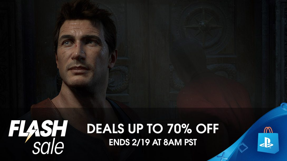 Flash Sale! Save on Uncharted 4, Overwatch GOTY and More