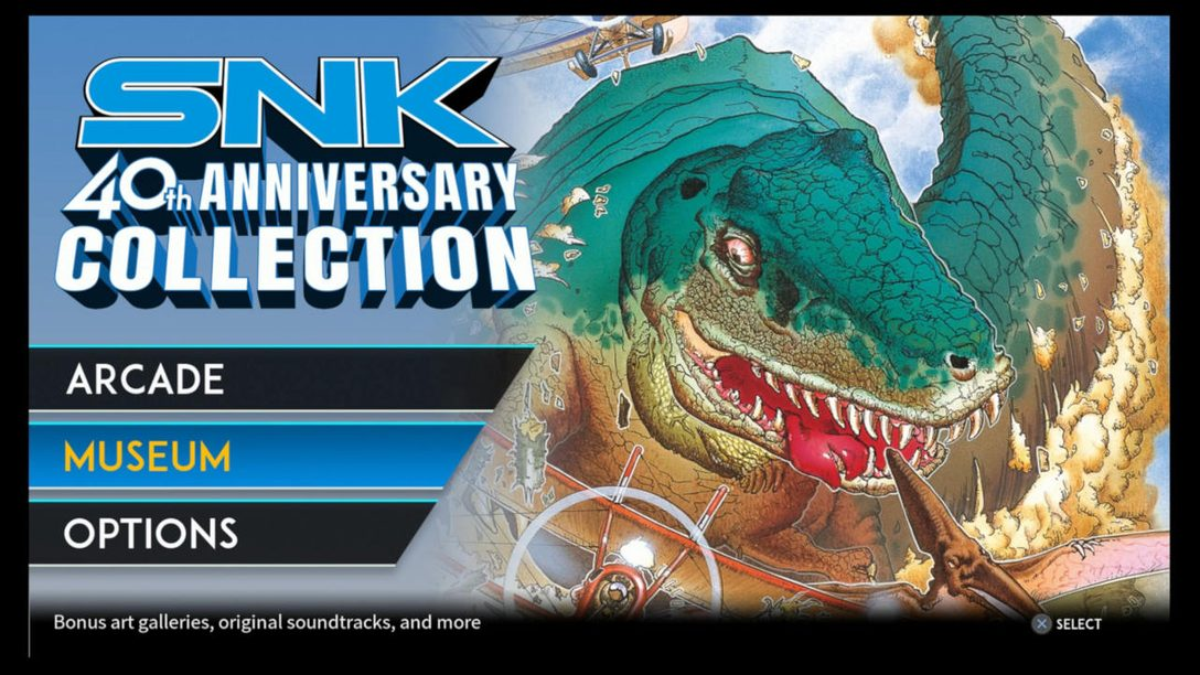 SNK 40th Anniversary Collection: Archiving a Golden Age of Gaming, Out March 19 on PS4
