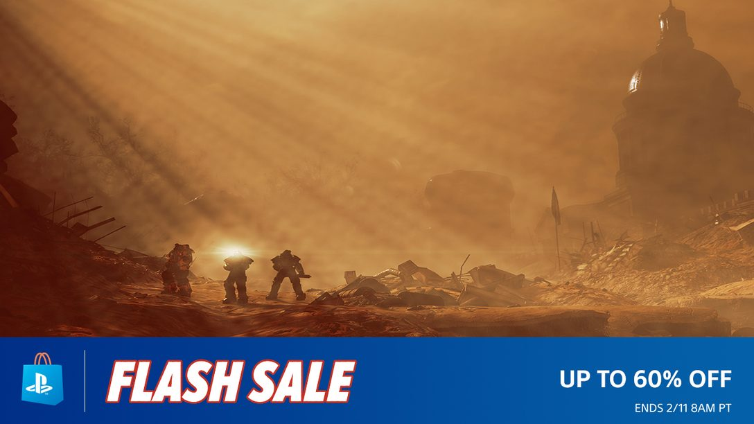 Flash Sale: Adventures Await With Up to 60% Off – PlayStation Blog