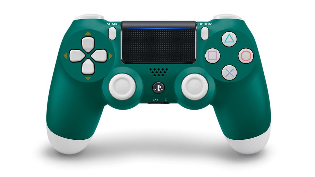Alpine Green Joins the DualShock 4 Lineup in April