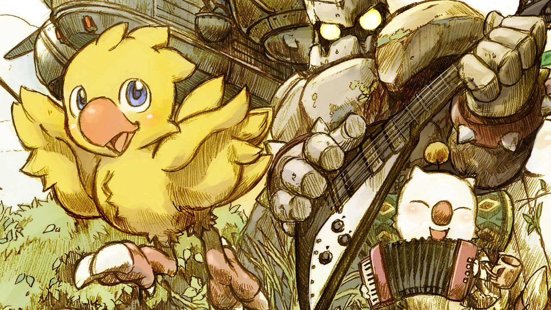 Chocobo's Mystery Dungeon Every Buddy! Out Today, Character Designer Art Showcase