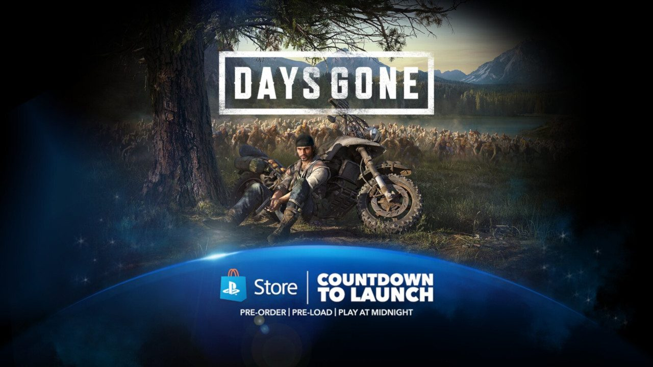 Countdown to the Launch of Days Gone Tonight – PlayStation Blog