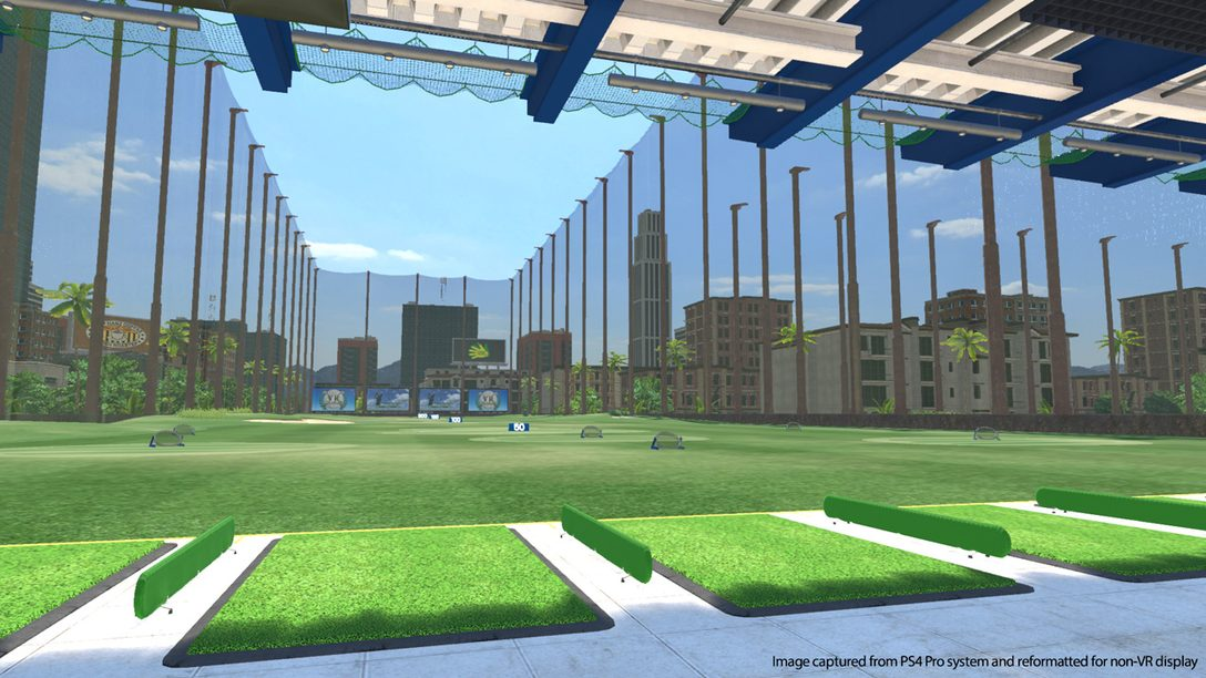 Everybody's Golf Tees Off in PlayStation VR May 21st
