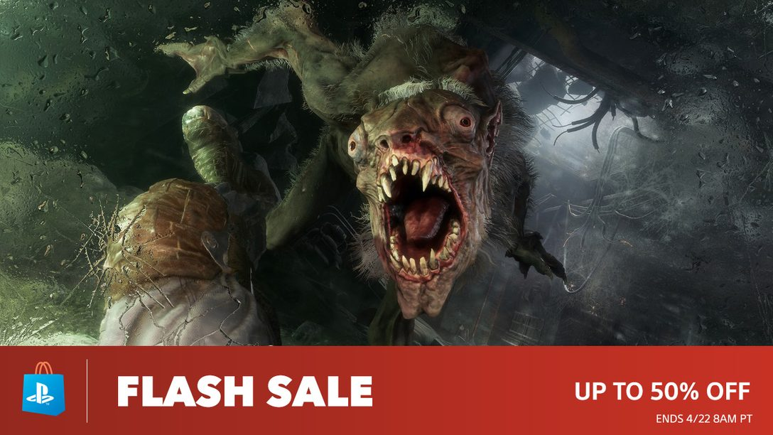 Flash Sale! Save Up To 50% at PS Store