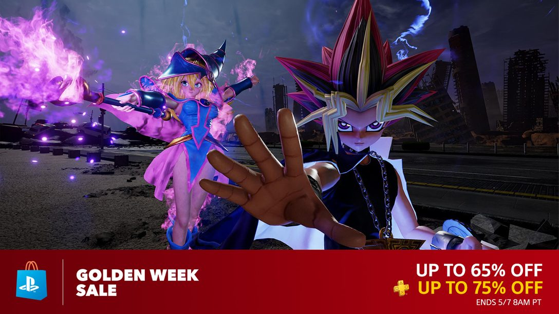 Celebrate Golden Week with Savings Up to 65% – PlayStation Blog