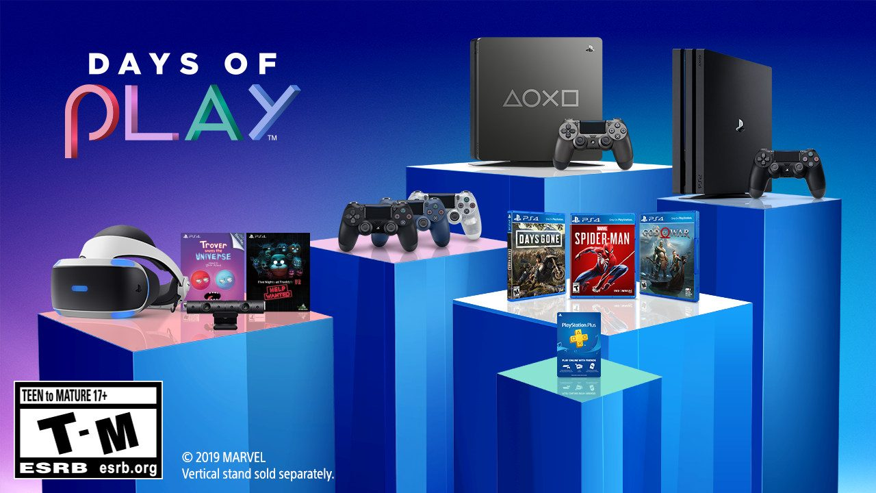 Days of Play: 11 Days of Deals and a New Limited Edition PS4
