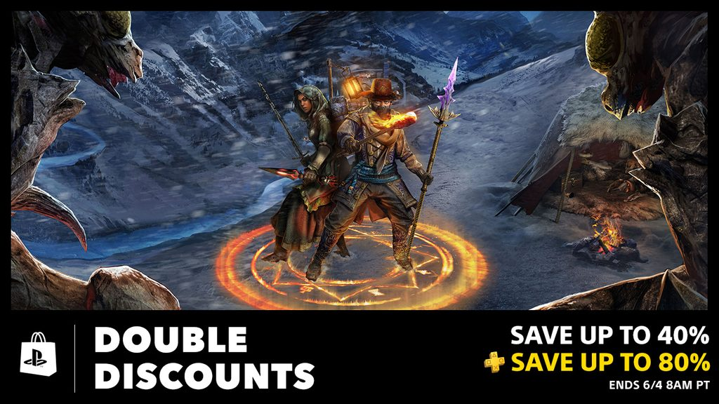 PS Plus Double Discounts Bring Savings up to 80