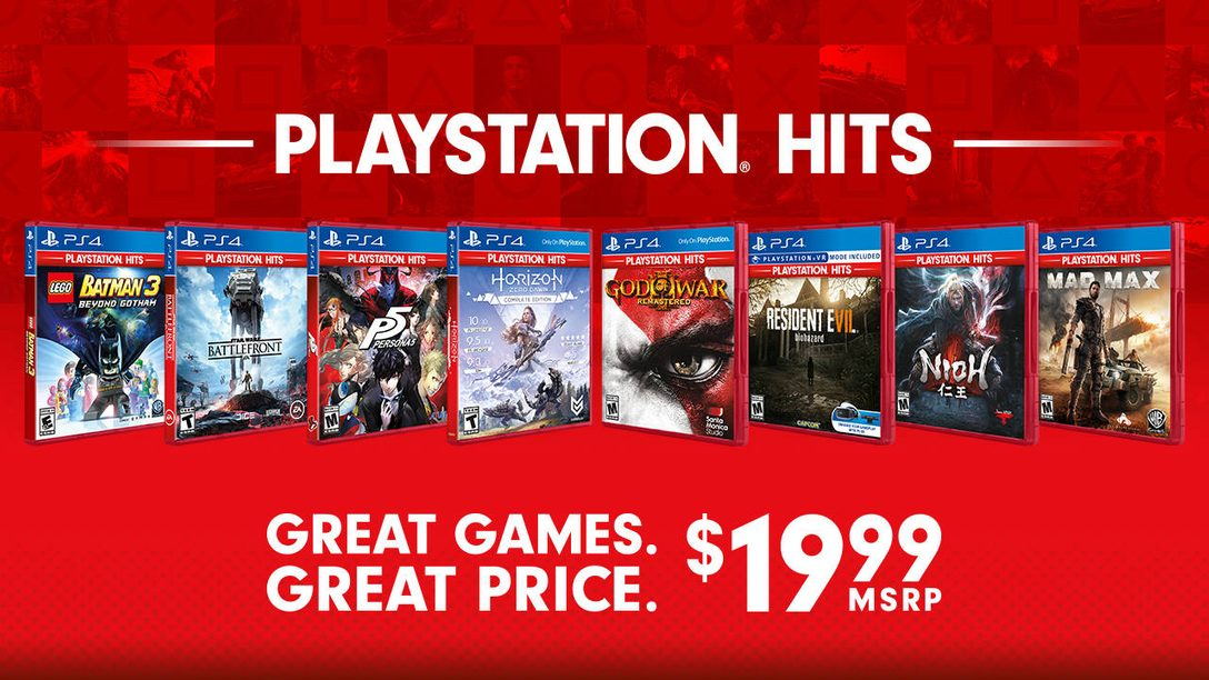 Introducing New Summer Additions to the PlayStation Hits Lineup
