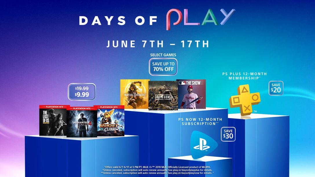 Days of Play Deals Hit PlayStation Store