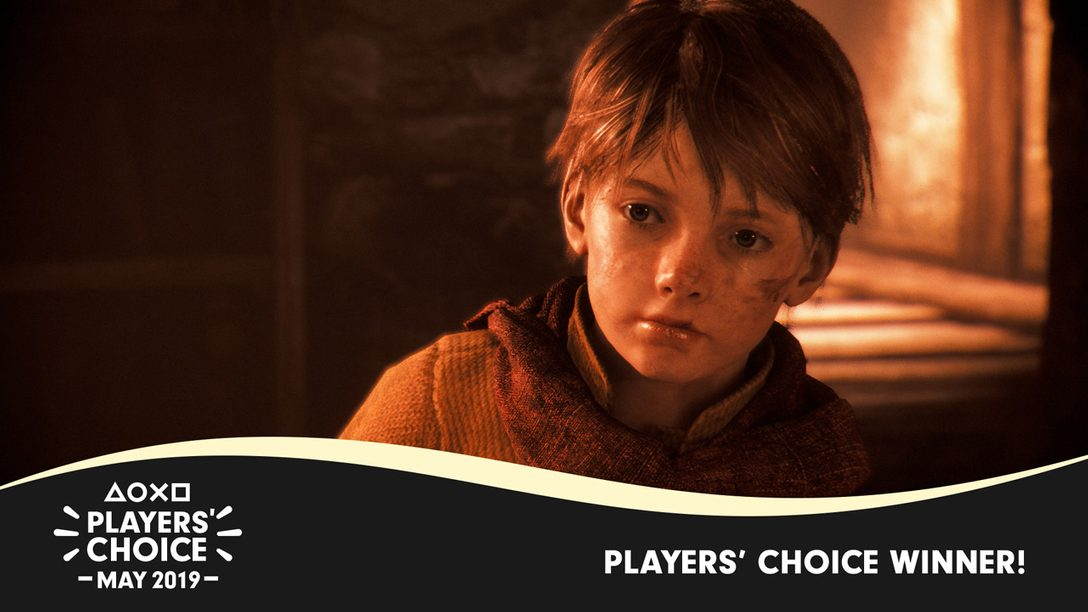 Players' Choice: A Plague Tale: Innocence Voted May's Best