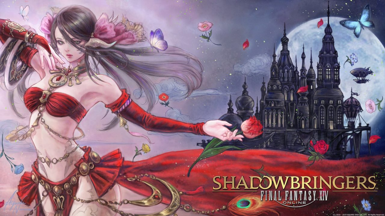 Celebrate The Launch Of Final Fantasy Xiv Shadowbringers With Art