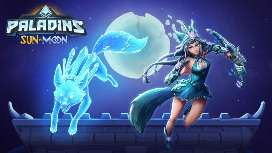 Moon Goddess Io Joins the Paladins Roster Today