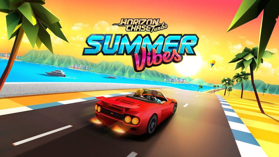 Horizon Chase Turbo: Summer Vibes DLC Out Today