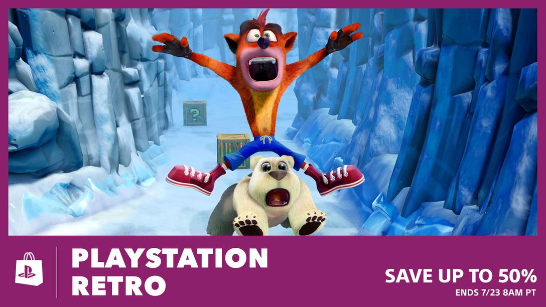 PlayStation Retro: Deals Up to 50%