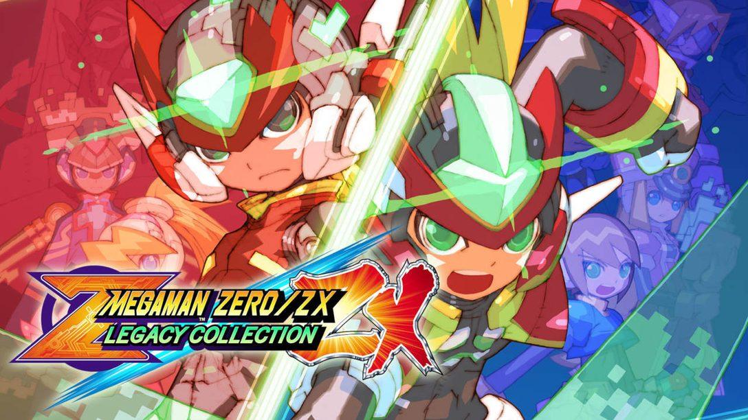 Mega Man Zero / ZX Legacy Collection Dashes to PS4